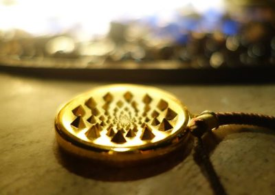 Sensor V Medallion pic