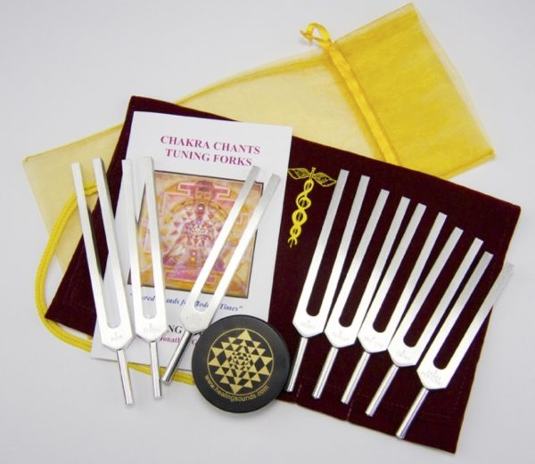 Goldman Chakra Tuning Forks Kit at CoolestTechEver.com