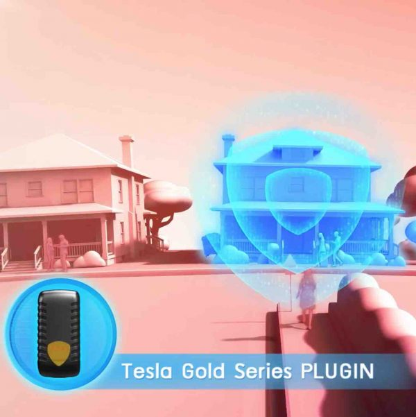 Tesla Gold Series Plugin for CoolestMeditationEver.com