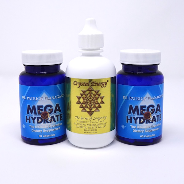 Hydration Starter Pack: One Crystal Energy and Two MegaHydrate