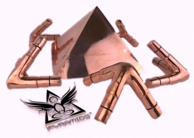 Copper Giza Meditation Pyramid