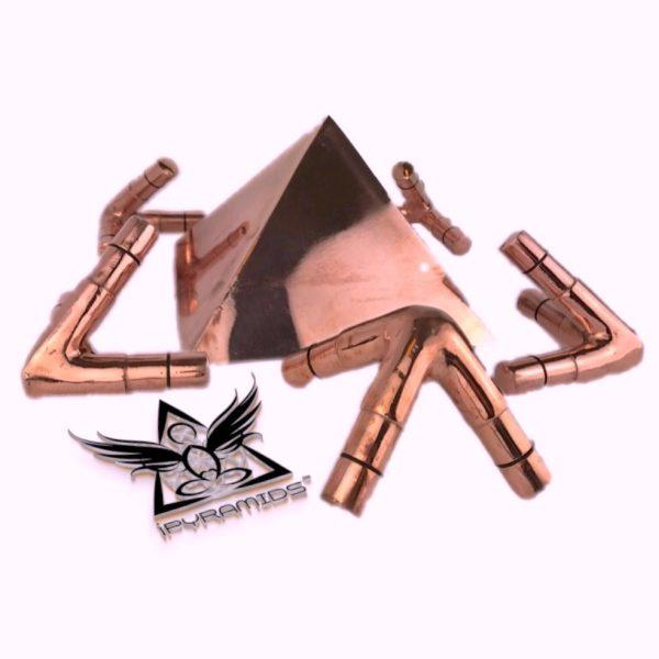 Copper Giza Meditation Pyramid Kit