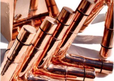 Copper Nubian Closeup