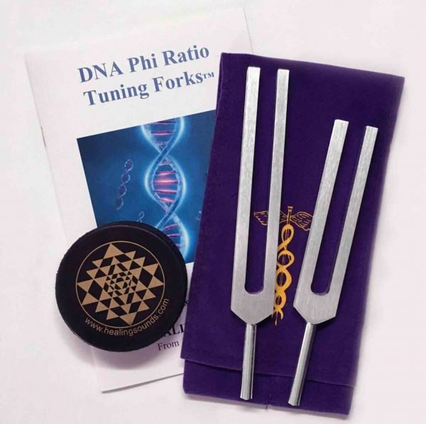 Jonathan Goldman Healing Sounds DNA Phi Ratio Tuning Forks