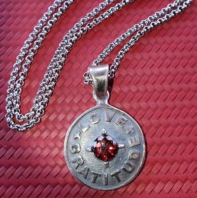 Ladies Love & Gratitude Medallion Liz Alpert