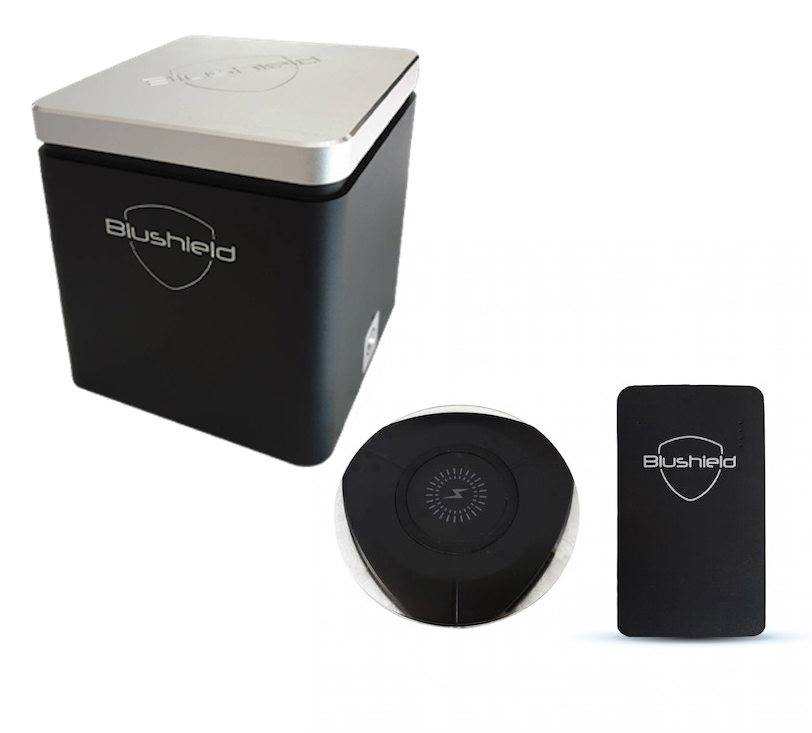 Blushield Premium Cube + Induction Charge Portable