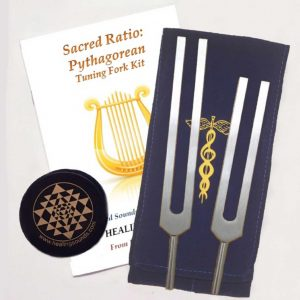 Goldman Pythagorean Tuning Fork Kit