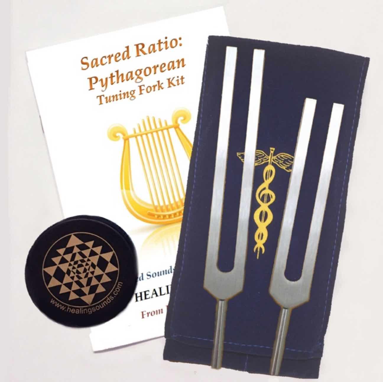Goldman Pythagorean Tuning Fork Kit