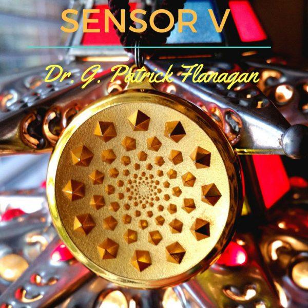 Sensor V Medallion by Dr. Patrick Flanagan