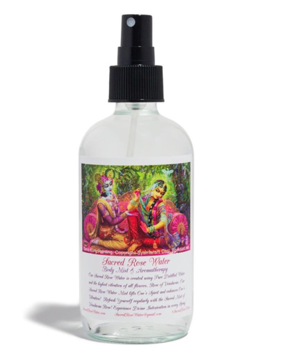 Sacred Rose Water Aromatherapy Spray