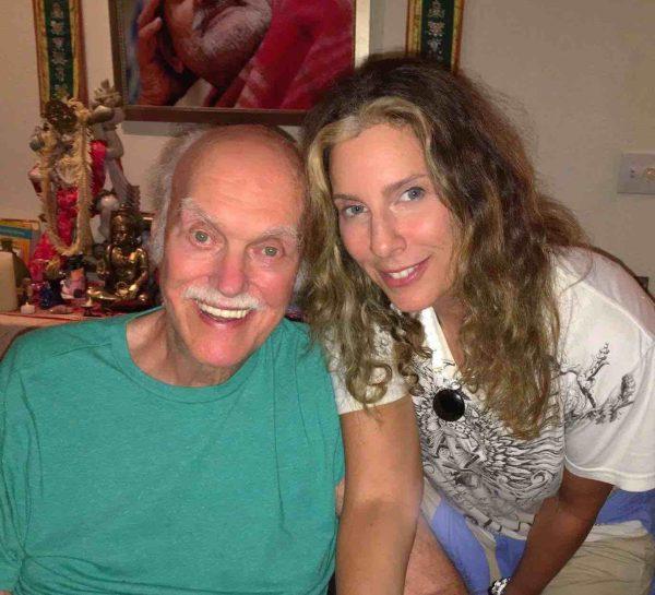 Unlce Ram Dass and Liz Alpert JPG
