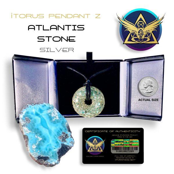 Atlantis Silver Orgone Pendant