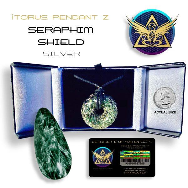 iTorus Seraphim Shield GOLD Pendant